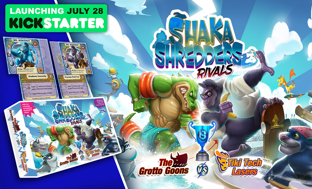 Shaka Shredders: Rivals Game Box